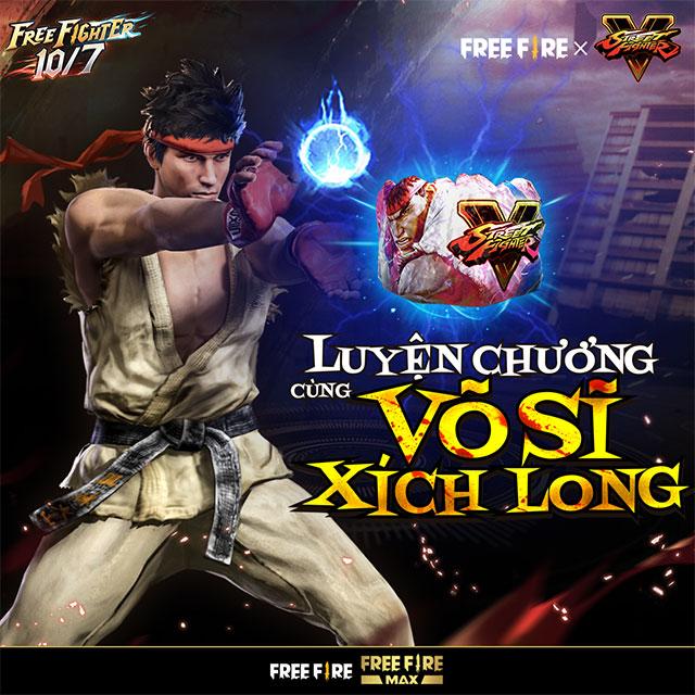 Sự kiện Free Fire và Street Fighter V bước vào Vòng Cuối ngày 10/7 này!