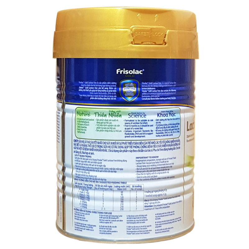 Frisolac Gold Lactose Free 400g