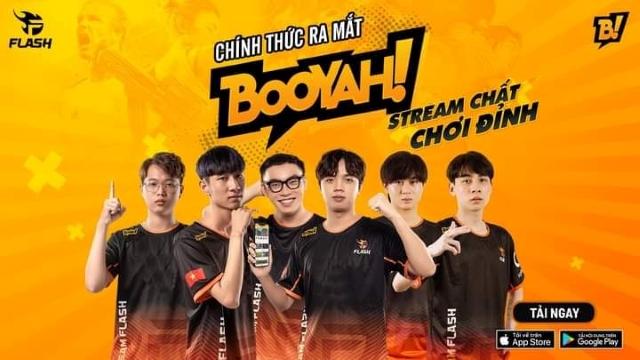 Team Flash trở thành đối tác của nền tảng livestream mới BOOYAH! Live