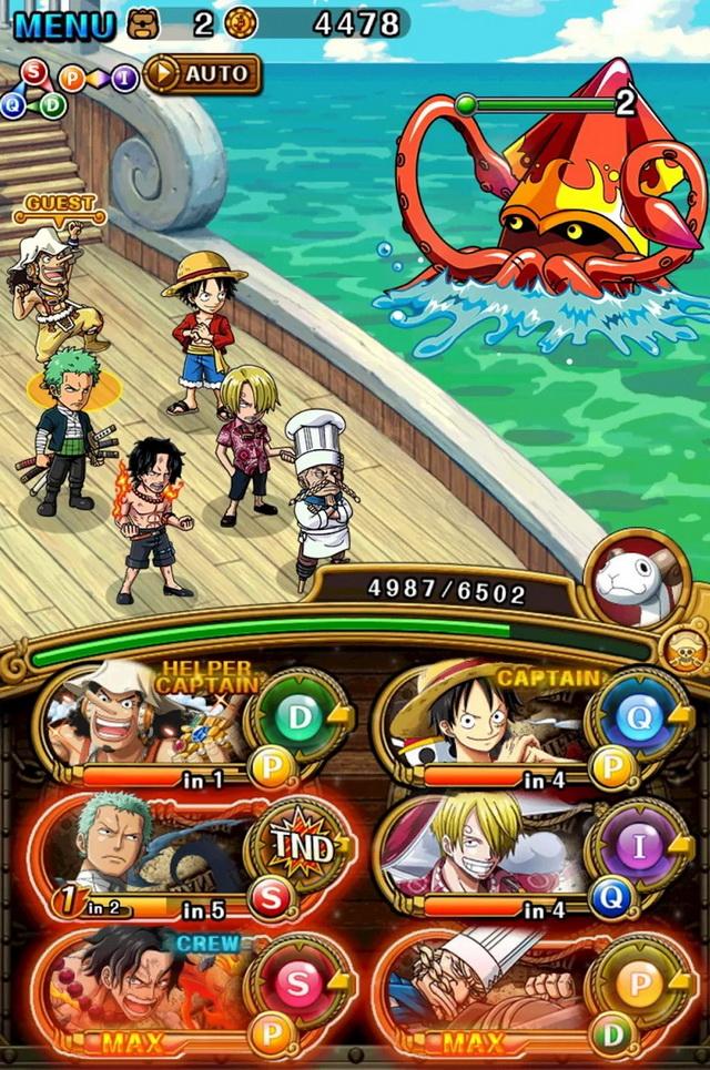 """Top 3 game One Piece mobile 2021 """"chuẩn hàng Nhật"""" thú vị nhất"""