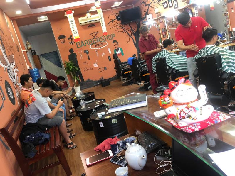 Gentleman barbershop Long Khánh
