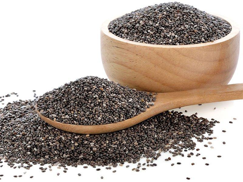 Không nên ăn quá nhiều hạt chia