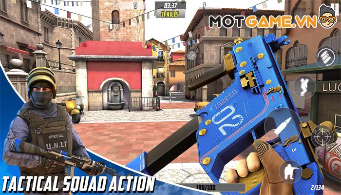 Hazmob FPS – Game FPS đầu tiên cho phép lựa chọn vị trí chiến đấu