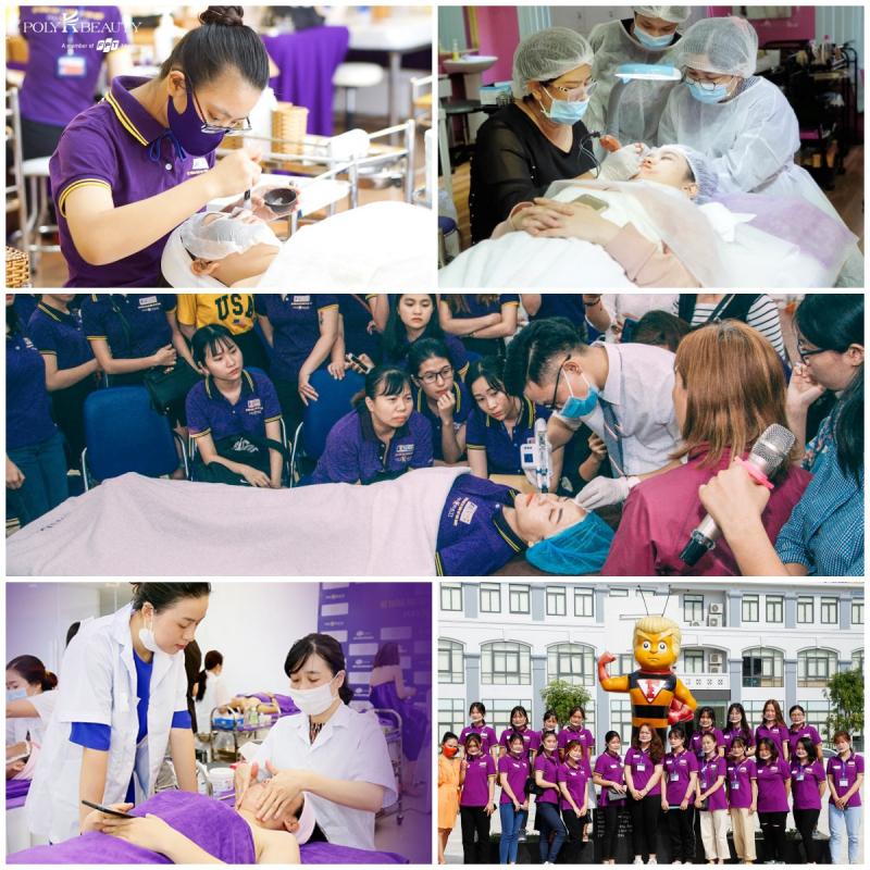 Hệ thống đào tạo thẩm mỹ Hàn Quốc Poly K-Beauty