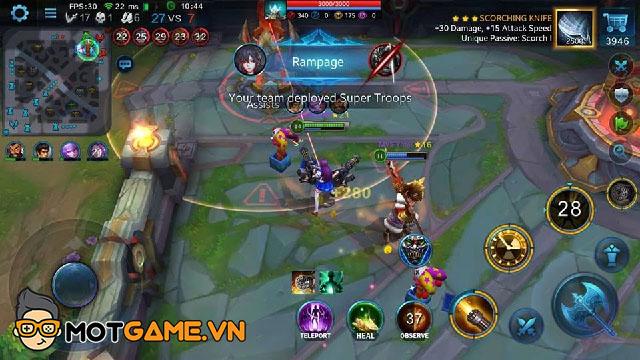 Heroes Evolved – Đối thủ đáng gờm mới của thể loại MOBA Mobile