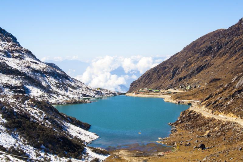 Hồ Tsomgo Lake hay còn gọi là Hồ băng Tsomgo