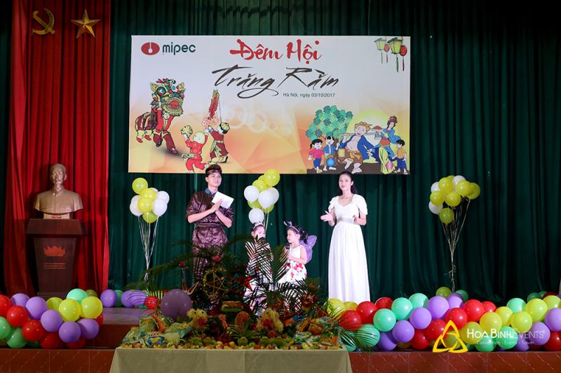 Hòa Bình Events tổ chức trung thu trọn gói