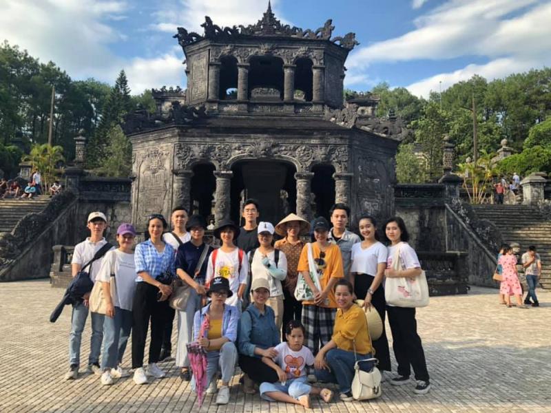 Hoạt động ngoại khóa của học viên Học tiếng Trung tại Huế