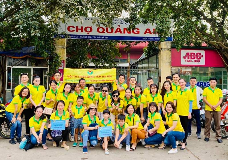 Hội Từ thiện Minh Tâm Hà Nội
