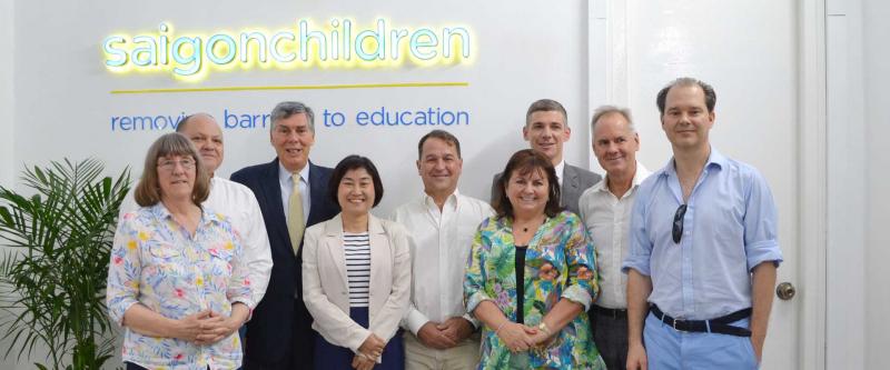 Hội từ thiện trẻ em Sài Gòn (Saigon Children's Charity CIO)