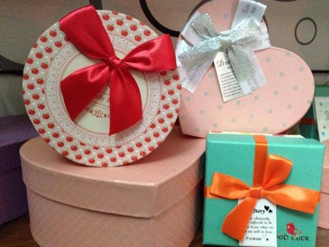 Những hộp quà dễ thương