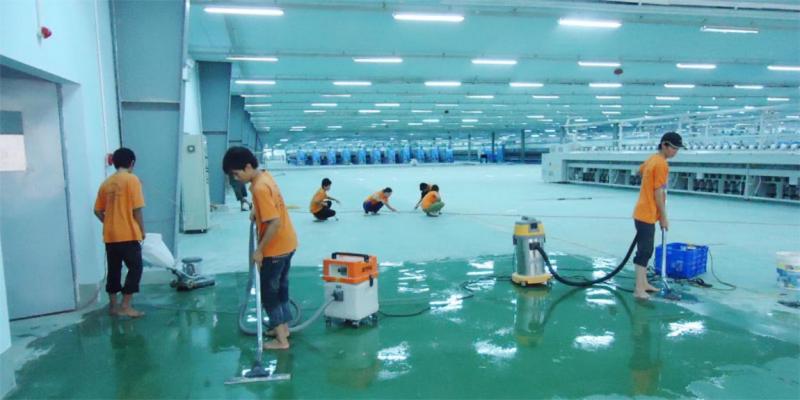 Công ty vệ sinh Linh Anh