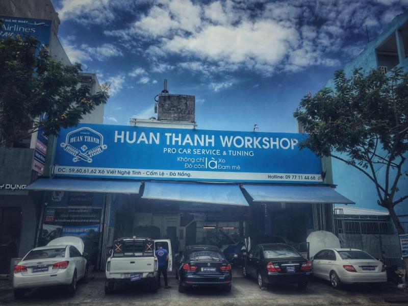 Top 8 Địa chỉ sơn xe ô tô uy tín, chuyên nghiệp nhất tại Đà Nẵng