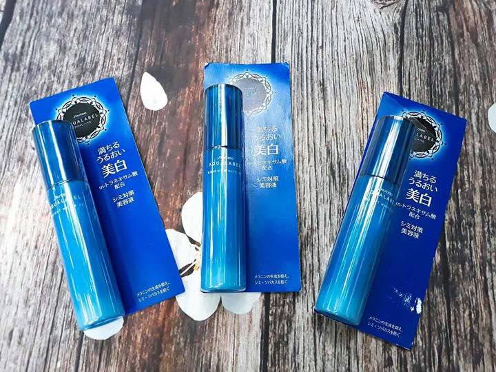 Huyết thanh trắng da Shiseido Aqualabel Bright White EX