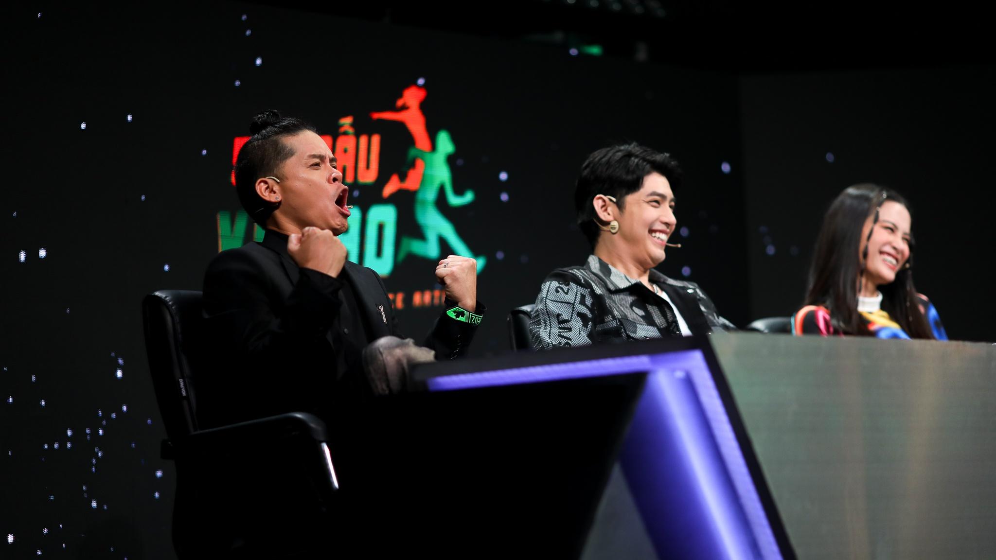 14 tiếng ở hậu trường ghi hình game show Việt