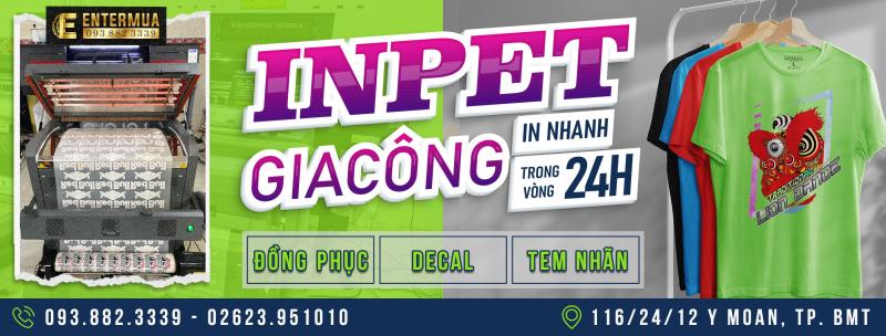 In Ấn Đồng Phục - EnterMua