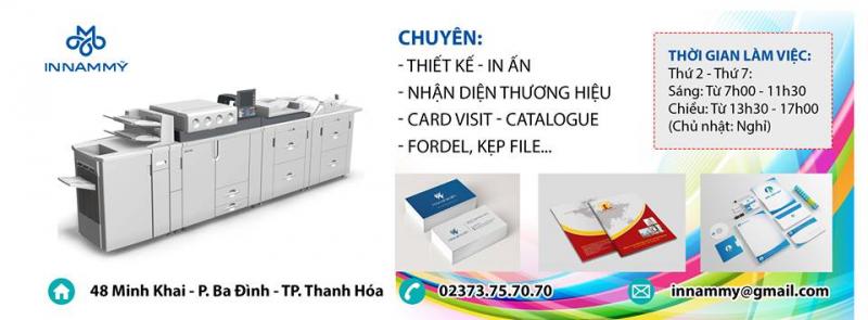 Top 4 Công ty in ấn tốt và uy tín nhất TP. Thanh Hóa, tỉnh Thanh Hóa