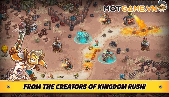 Junkworld tựa game thủ thành mới được đánh giá sẽ nối tiếp thành công của Kingdom Rush