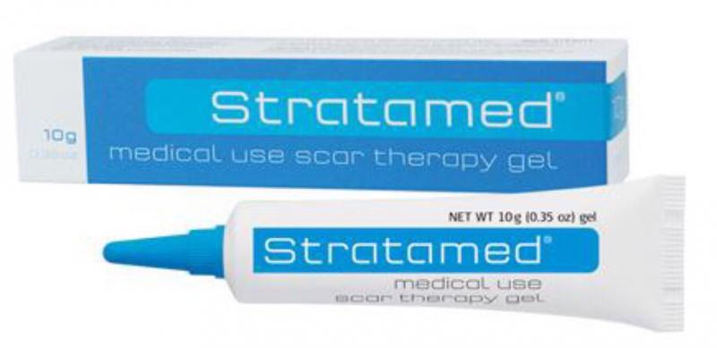 Kem trị sẹo em bé Stratamed