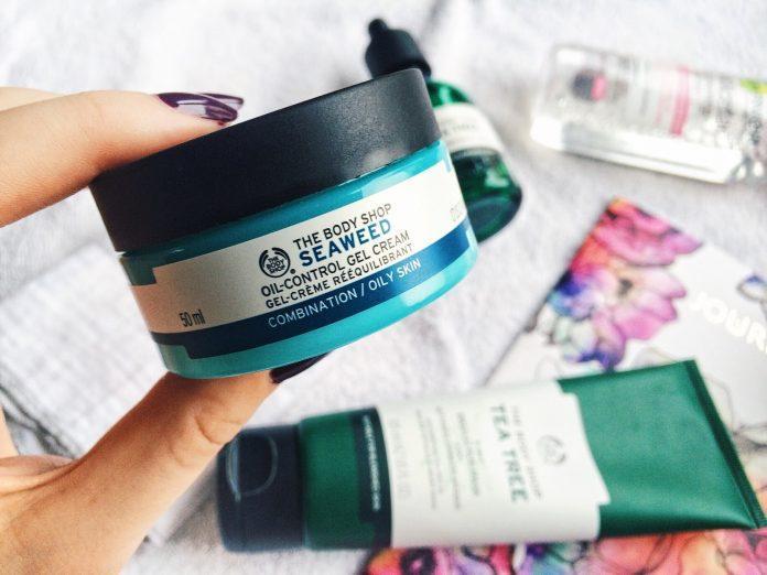 The Body Shop Seaweed oil-control gel cream