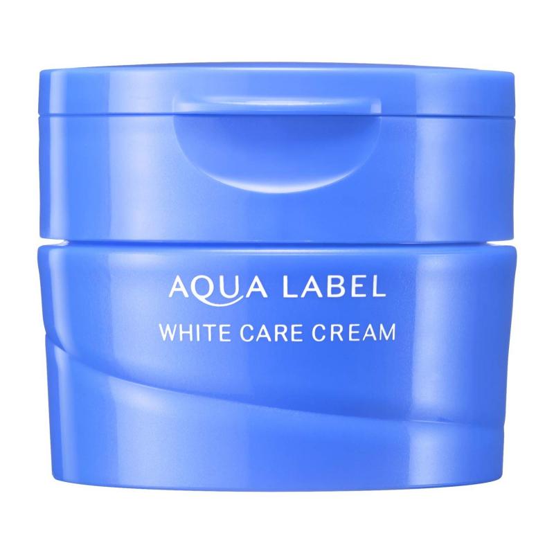 Kem dưỡng Shiseido Aqualabel White Care Cream Xanh