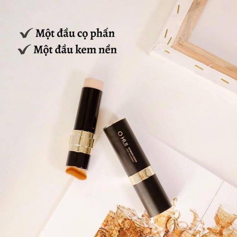 Thiết kế tinh xảo và nhỏ gọn của kem nền dạng thỏi OHUI Ultimate Cover Stick Foudation