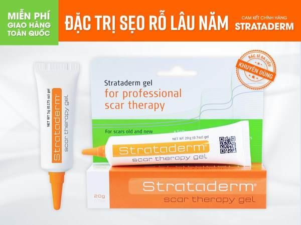 Gel trị sẹo Strataderm
