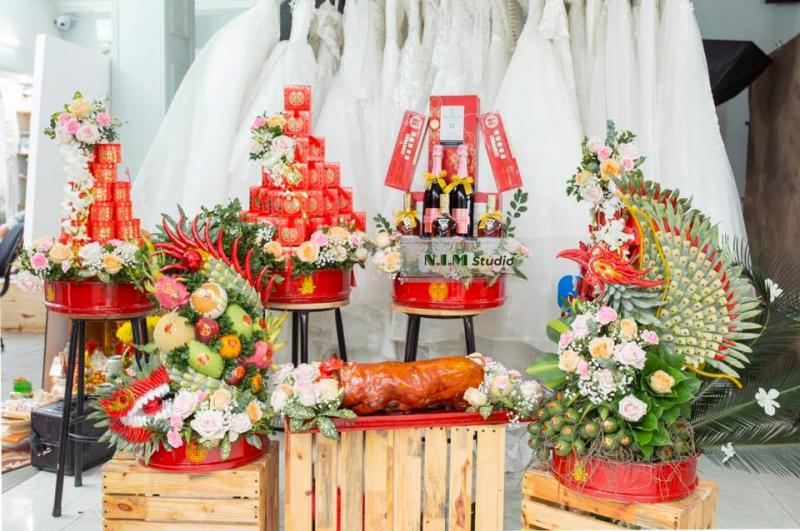 Kết Lễ Tráp Ăn Hỏi, Nạp Tài Đẹp Thành Vinh - 34A Kim Đồng