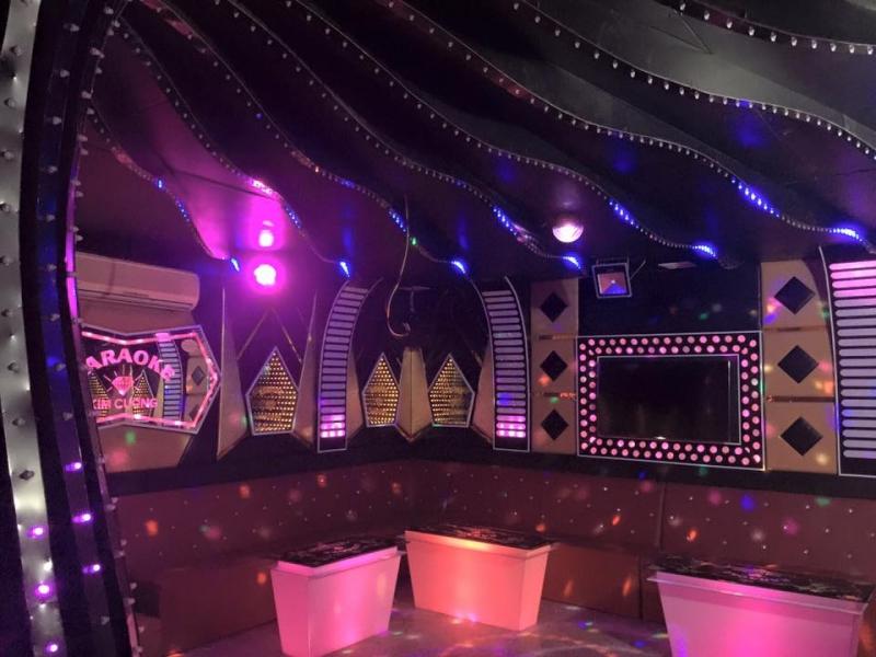 Phòng Karaoke của khách sạn Kim Cương