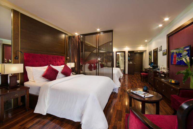 Phòng tại khách sạn Sapa Horizon