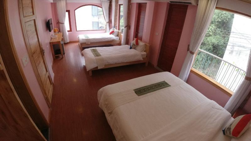 Phòng khách sạn Sapa Scenery