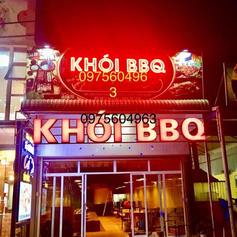 Không gian nhà hàng KHÓI BBQ