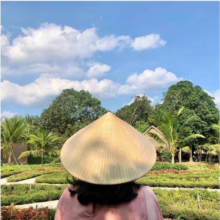 Một nét đẹp tại Du lịch Mỹ Khánh với những mảng cây xanh tươi mát