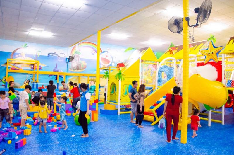 Khu vui chơi cho bé – Doraemon Kids tọa lạc tại số 686 CMT8, Phường 3, Tp Tây Ninh.