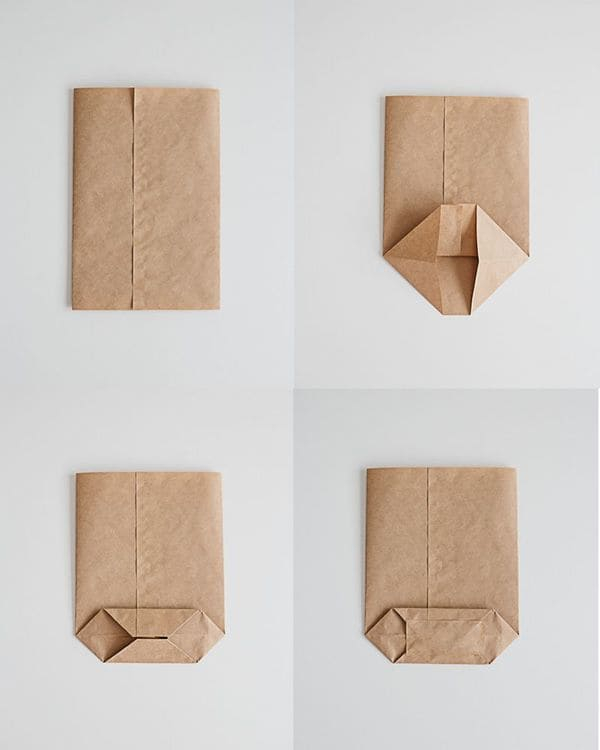 Làm túi giấy handmade đơn giản