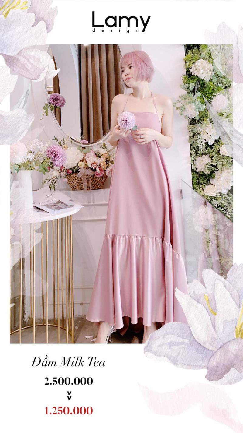 Đầm Milktea