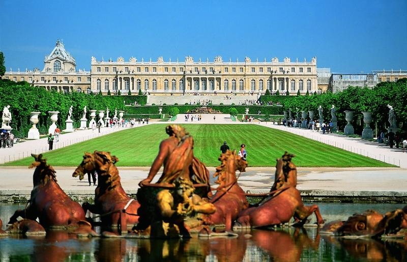 Vẻ đẹp lộng lẫy lâu đài Versailles