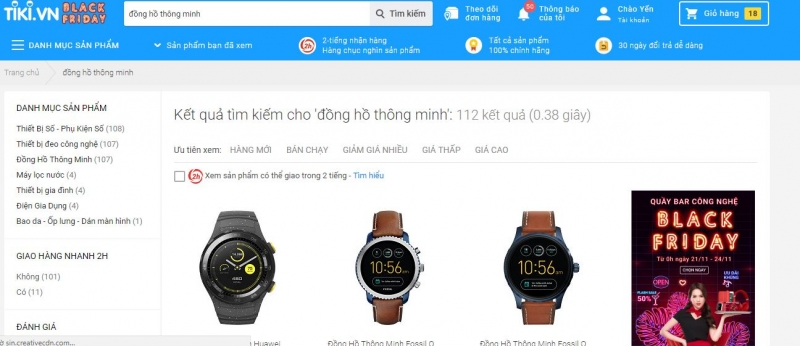 Website Tiki.vn