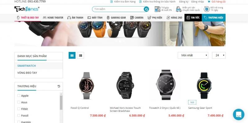 Website Techzones.vn