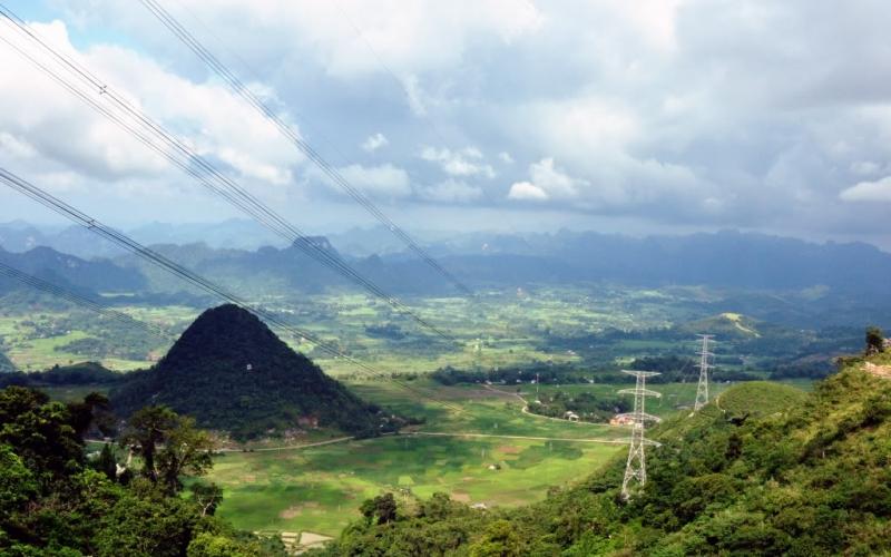 Đèo Thung Khe hùng vĩ