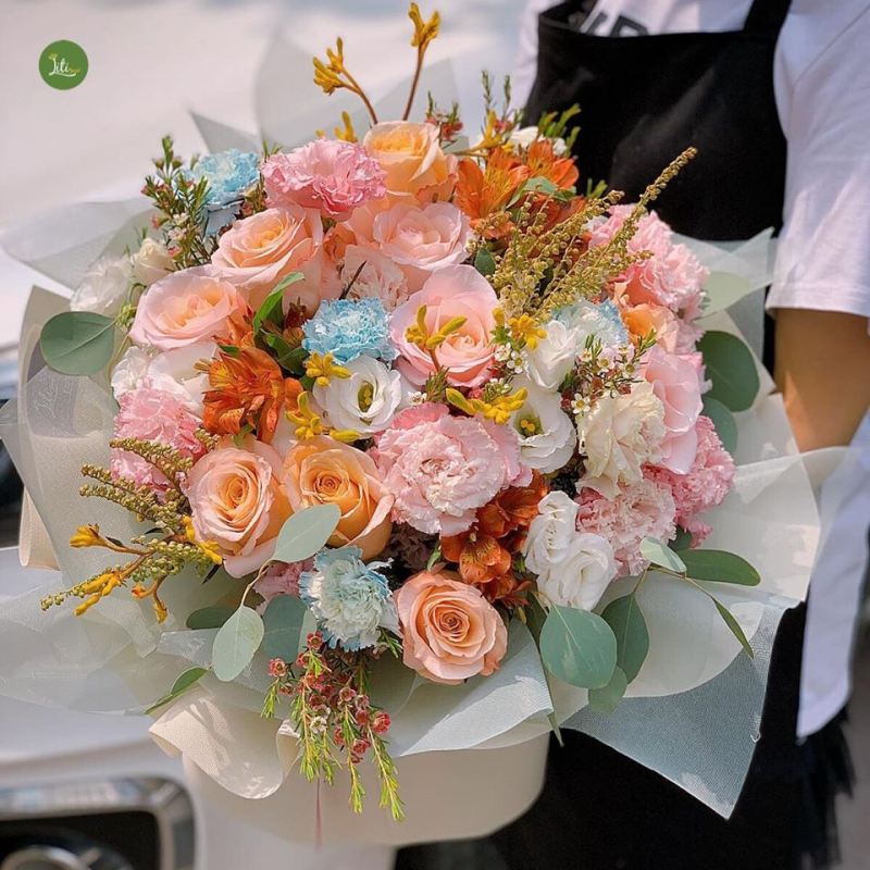 Top 15 Tiệm hoa tươi cực đẹp và uy tín tại Hà Nội