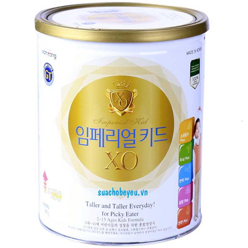 Sữa XO Kid tăng cân