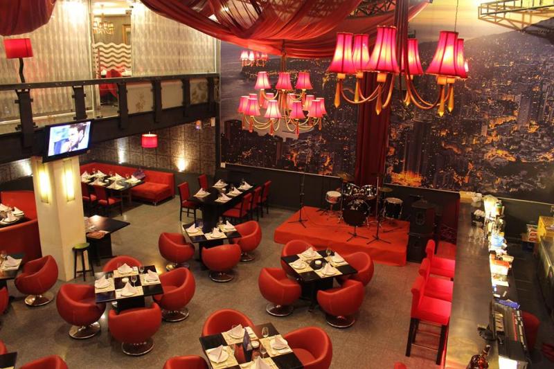 Không gian chính của nhà hàng