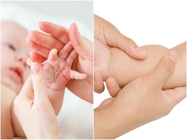 Massage bằng nước ấm