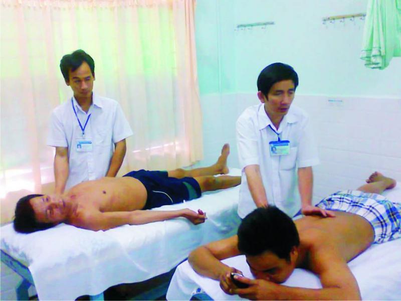 Massage Người Khiếm Thị - Nhân Ái