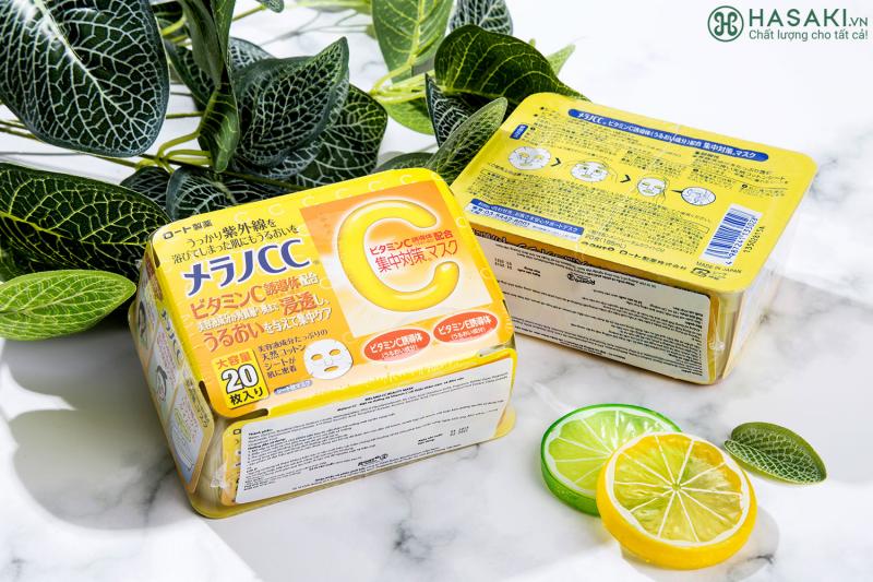 Top 5 Mặt nạ Vitamin C được ưa chuộng nhất hiện nay