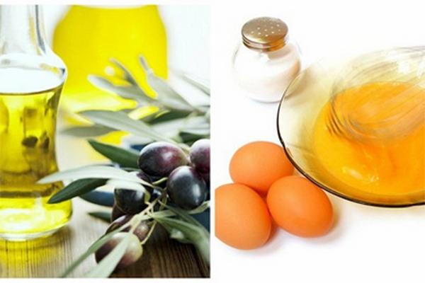 Mặt nạ mật ong trứng gà dầu oliu