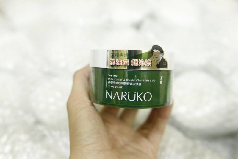 Mặt nạ Naruko Tea Tree Shine Control Blemish Clear Night Gelly