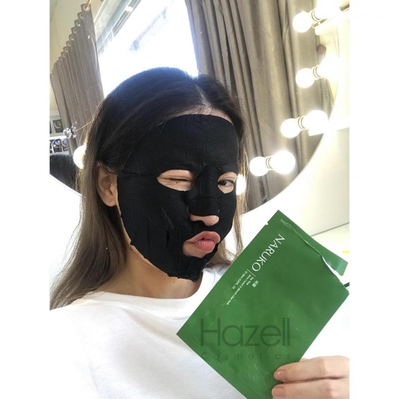 Mặt nạ tràm trà Naruko Tea Tree Shine Control & Blemish Clear Mask