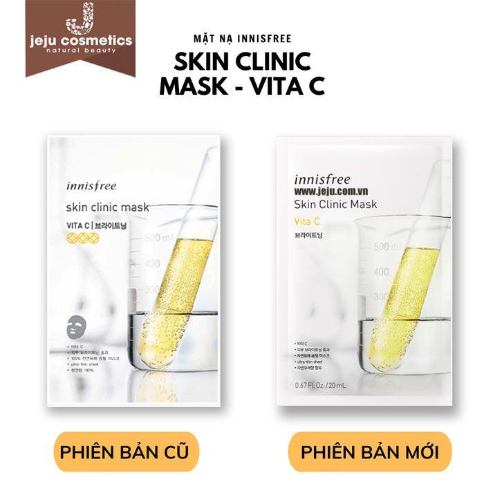 Mặt nạ Vitamin C innisfree Skin Clinic Mask